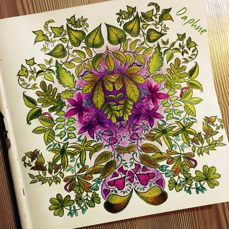 Leaves Secret Garden By Dap GardensColoring BooksColouringJohanna