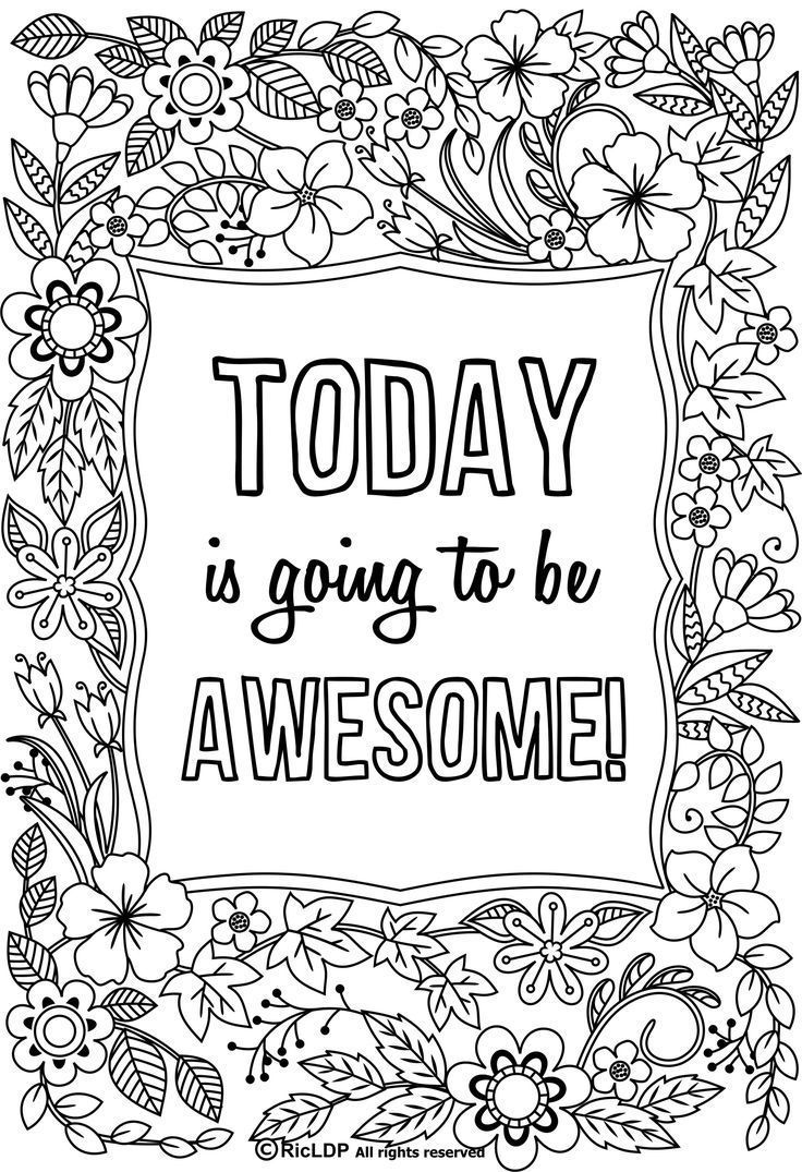 Two Inspirational Coloring Pages I Can Do All Things Etsy Quote Coloring Pages Coloring Pages To Print Coloring Pages Inspirational