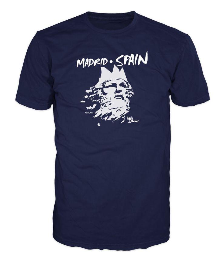 Chano Tshirts. Madrid Spain ( Neptuno).