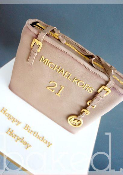 Michael Kors Handbag Cake  Diese und weitere Taschen auf www.designertaschen-shops.de entdecken