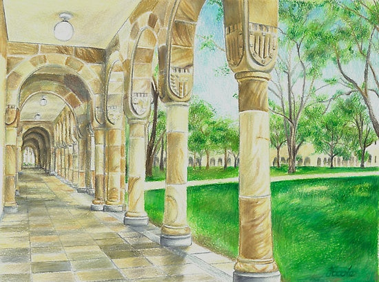 UQ Great Court by Jacqui Coote