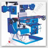 Milling Machine - Milling machine is used for precision shaping of metal and solid materials. We offer manual milling machine, mechanical milling machine and CNC milling machine. We cater milling machines in various models based on factors like table surface, cross, vertical traverse, longitudinal traverse etc. Bhavya Machine Tools provides universal all geared milling machine, vertical all geared milling machine, universal geared drive milling machine, turret milling and milling…