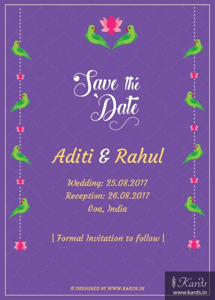 kerala couple invitation  design online  kards  wedding
