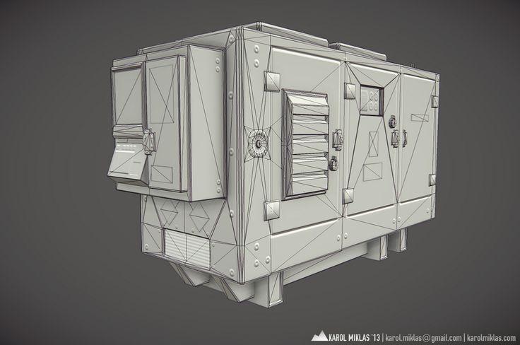[prop] power generator - Polycount Forum