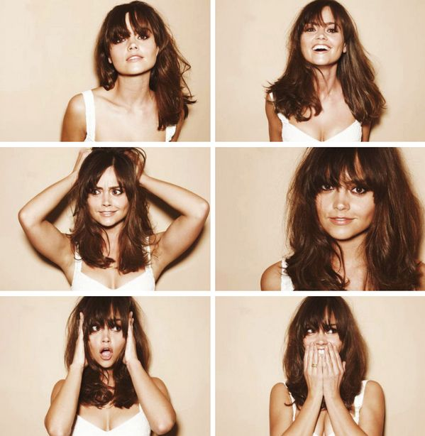 Jenna-Louise Coleman - hair like this please