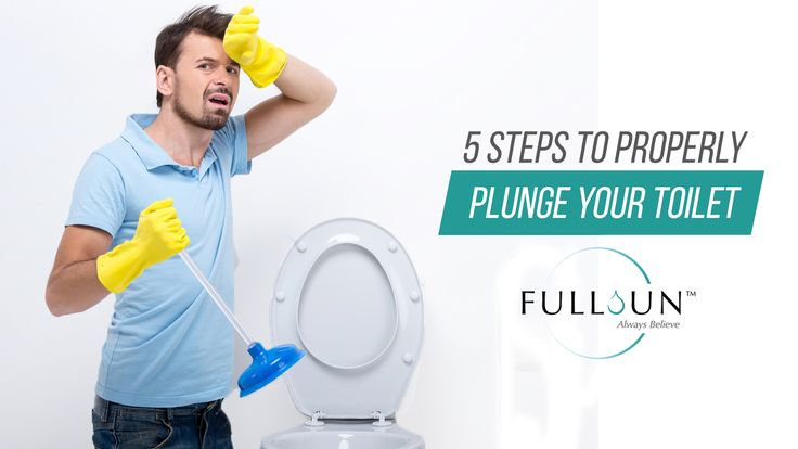 how to fix a toilet that won't flush with a plunger