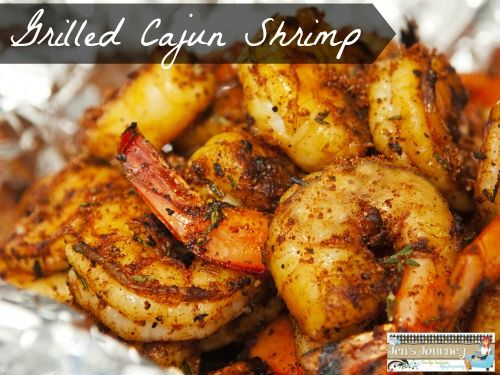 If you are looking for a healthy dinner idea, check out my recipe for Grilled Cajun Shrimp