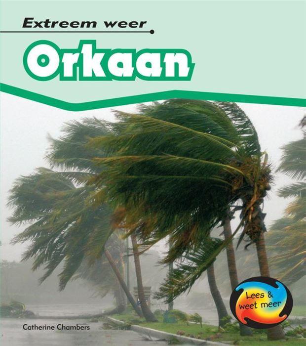 Orkaan  Orkaan gaat over zware stormen die over land razen bomen uit de grond rukken en huizen verwoesten.  Waar komen orkanen voor?  Wat richtte orkaan Katrina aan in New Orleans?  Hoe kunnen mensen hun huis beschermen tegen een orkaan?  EUR 14.00  Meer informatie
