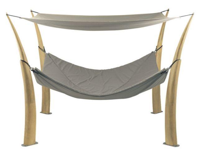 Das Kokoon Hängematte Design von Royal Botania als ruhigen - designer mobel baumstammen