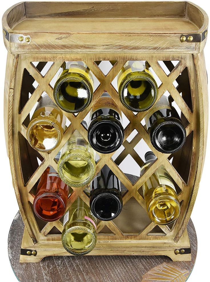 Pin On Wood Wine Racks