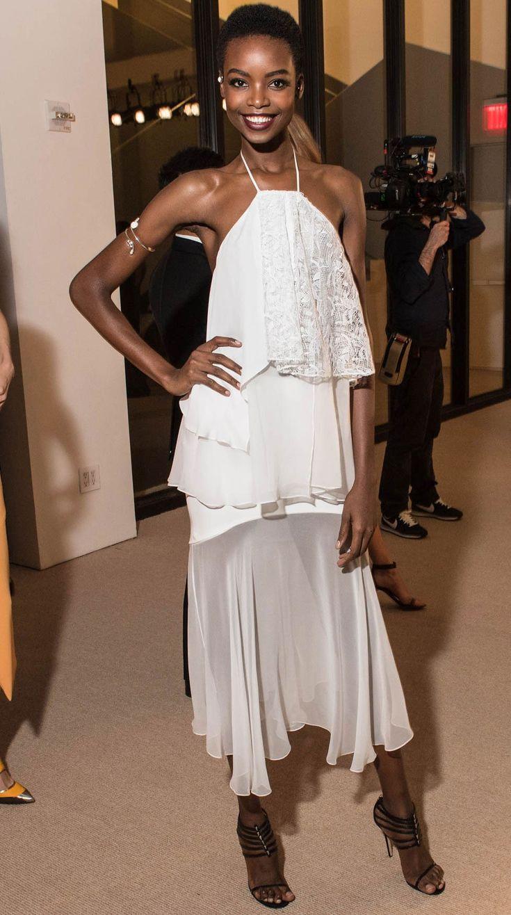 Maria Borges cfda vogue fashion fund awards 2015 best dressed