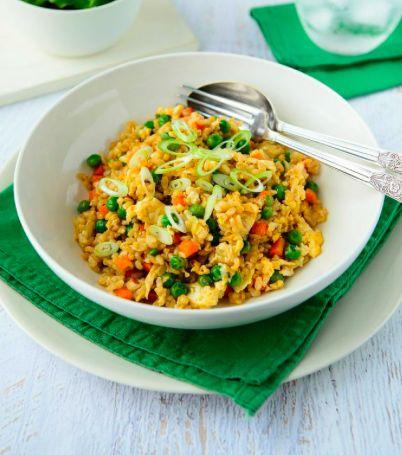 Healthy Tamari Fried Rice Recipe