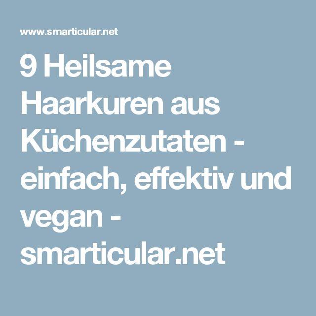 9 Heilsame Haarkuren aus Küchenzutaten - einfach, effektiv und vegan - smarticular.net