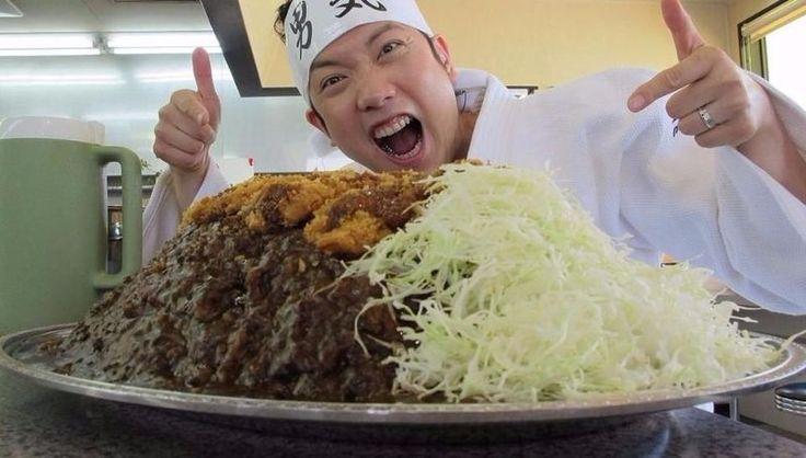 """Un restaurante japonés paga 900 dólares por comer un """"plato imposible"""": El restaurante Gold Curry situado en la Prefectura de Ishikawa,…"""