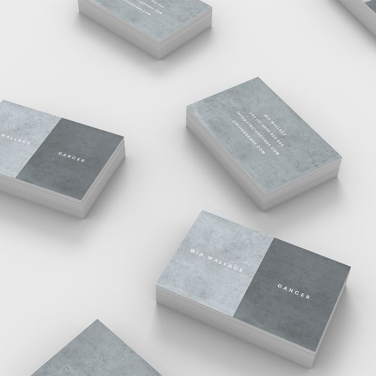 Wallace – one of our Texture business card templates available to customise and order on our site.