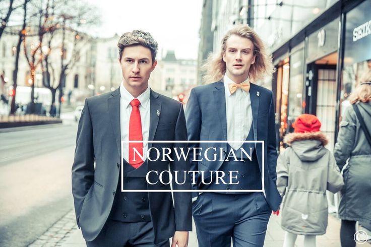 Norwegian Couture, Men´s Scandinavian Fashion. #menstyle #mensfashion #suitup #blazer #couture #Oslo