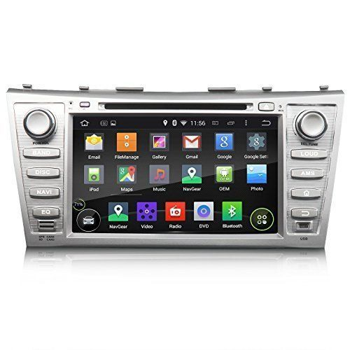 "Eonon GA5164F Special for Toyota Camry 2007-2011 Aurion 2006-2011 Quad Core Android 4.4.4 Kitkat OS in Dash Car DVD Player GPS Navigation Receiver with 8"" Touchscreen"