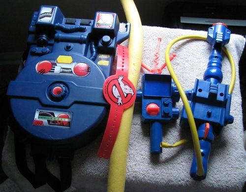 Vintage kenner ghostbusters proton pack , pke meter