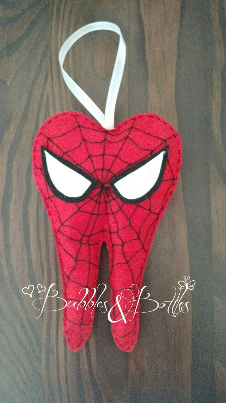 Spiderman toothfairypillow