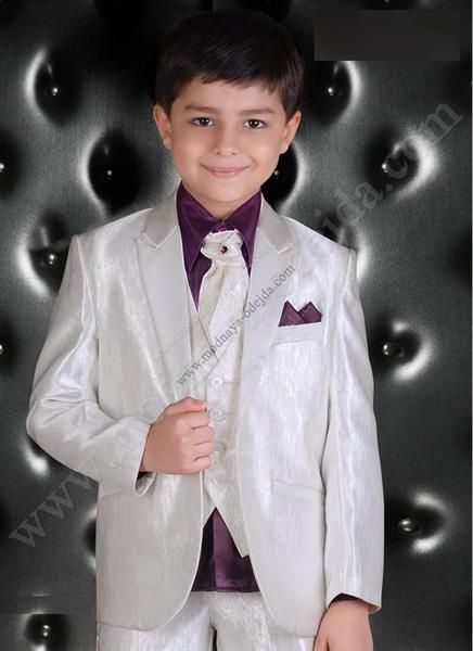 Белый пиджак для подростка