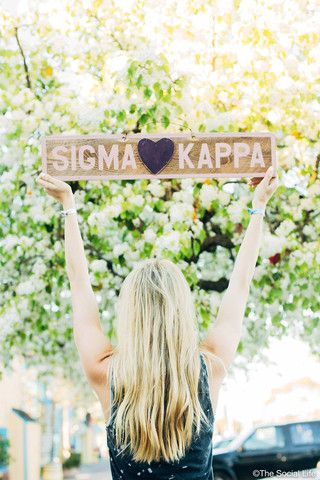 Sigma Kappa Vintage Sign                                                                                                                                                     More