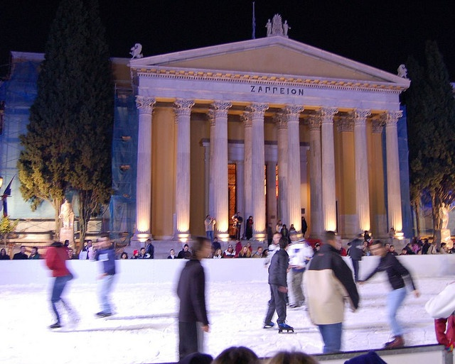 Ice Skating at Zappeion by RobW_, via Flickr