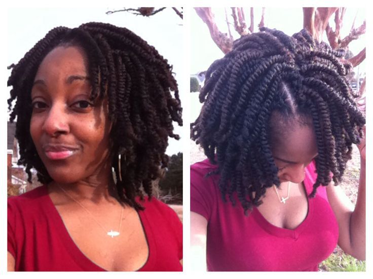 18 best images about short kinky twists on pinterest for Salon locks twists tresses