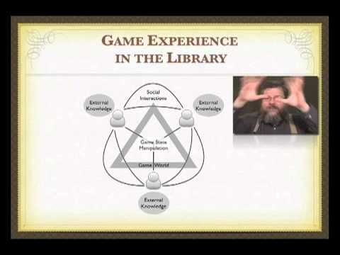 Gaming in Libraries Course Session 9 -- A Conceptual Framework for the Library Game Experience