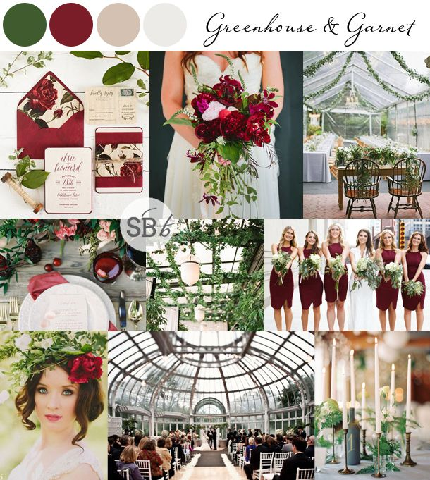 10 Botanical Wedding Inspiration Boards | SouthBound Bride