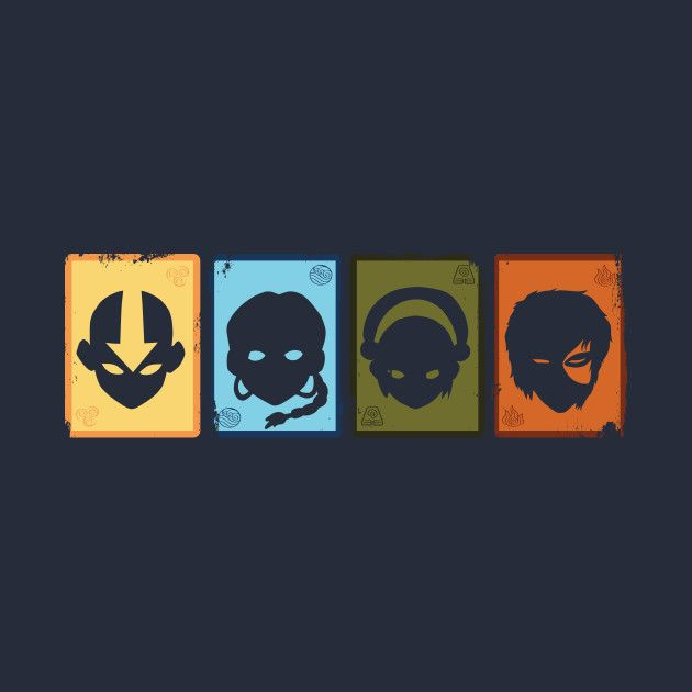 Image result for avatar the last airbender minimalist