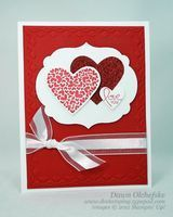 """SU """"PS I Love You"""", Hearts and Labels Framelits, Tulip Frame E F"""
