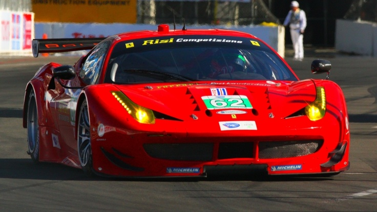 Ferrari ALMS Long Beach 2013 Photo by DPPI