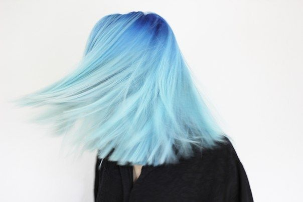 Or an all-over reverse ombre. Doable with any color, really.