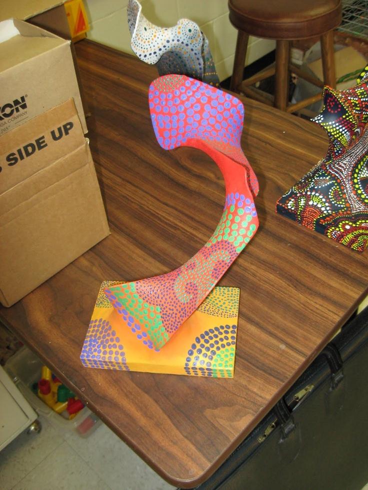 Panty Hose Art Project Designs