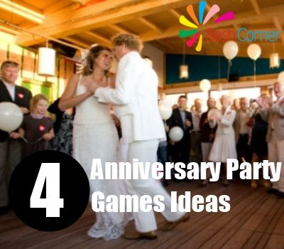 4 Anniversary Party Games Ideas