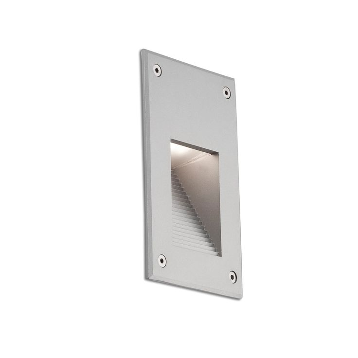 Luz empotrable para pared de jard n con led jardin for Bichito de luz jardin