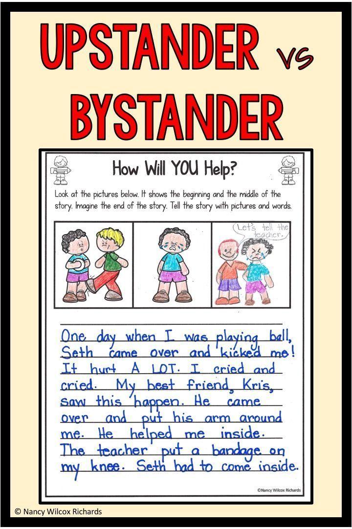 Anti Bullying Activities Bystander Activities Distance Learning Bullying Activities Anti Bullying Activities Differentiated Writing Activities