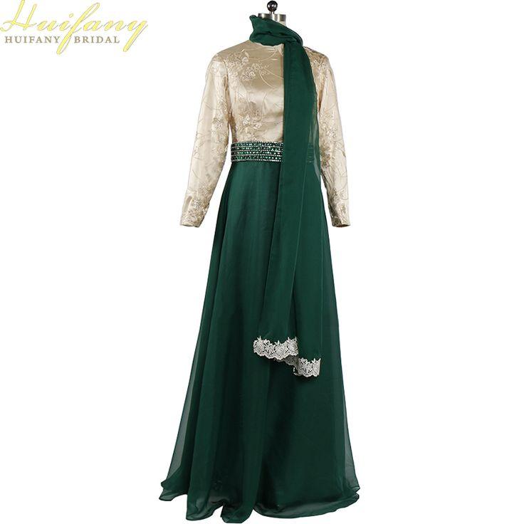 Real Muslim Evening Dress With Long Sleeves Beaded Lace Chiffon Burgundy Arabic Long Hijab Evening Dresses Party robe de soiree #Hijab dress http://www.ku-ki-shop.com/shop/hijab-dress/real-muslim-evening-dress-with-long-sleeves-beaded-lace-chiffon-burgundy-arabic-long-hijab-evening-dresses-party-robe-de-soiree/