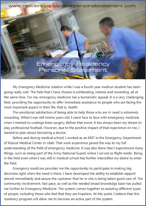Check out this----u003e emergency residency personal statement   - personal statement residency