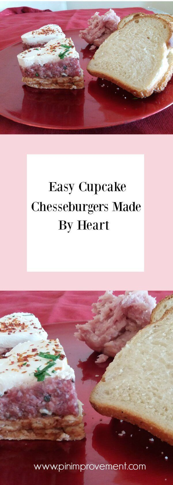 Easy Cupcake Chesseburgers Made By Heart