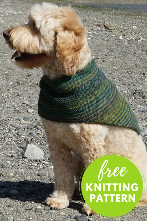 Striped Cowl Kerchief Free Knitting Pattern Knit One Purl Too