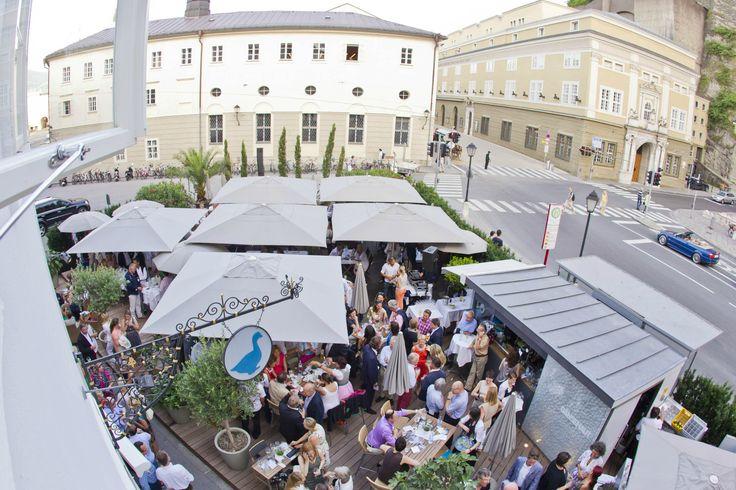 10 best arthotel blaue gans images on pinterest blue for Designer hotel salzburg
