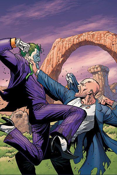 Joker vs Lex Luthor by Sean Chen