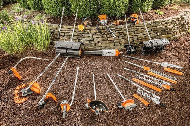 Stihl Kombi System- One engine to maintain several