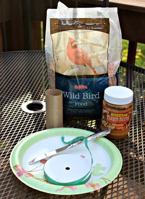 A Year in the Secret Garden activities! Connecting with Nature-Making a winter birdfeeder