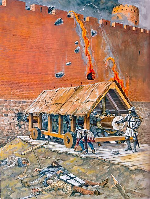 """Taran under siege, approx. 1350-1400"""