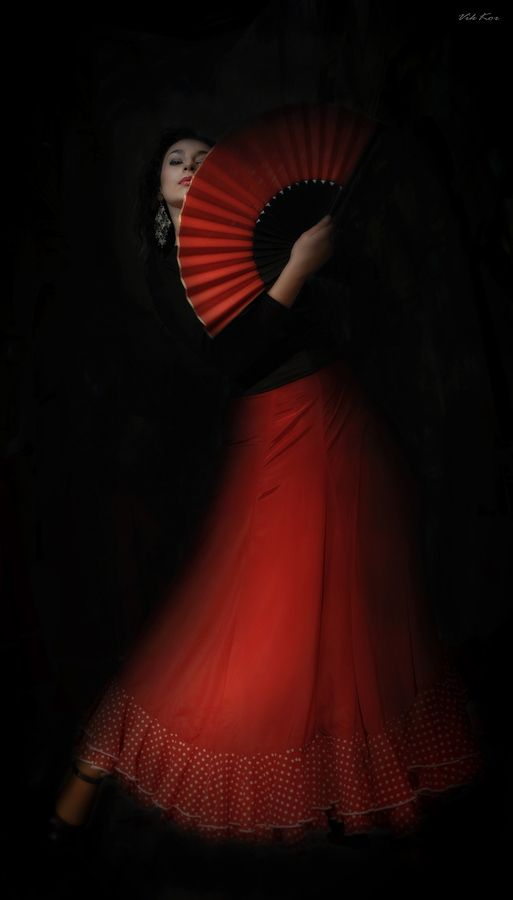 "dionysusbeauty:  ""Flamenco"" by Viktor Korostynski"