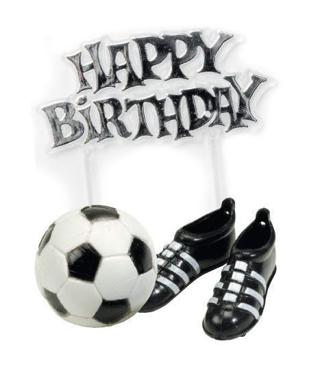 Decorazioni di compleanno a tema calcio su VegaooParty, negozio di articoli per feste. Scopri il maggior catalogo di addobbi e decorazioni per feste del web,  sempre al miglior prezzo!