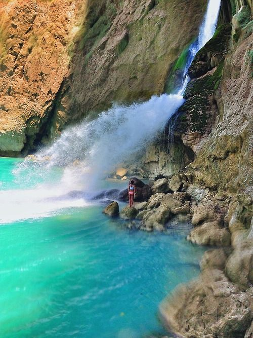 Blue Waterfall, Sumba, Indonesia