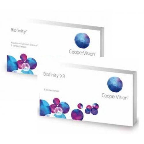 Lente de Contato Biofinity Multifocal 6 Pack